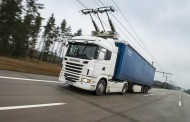 המשאית החשמלית יוצאת לדרך