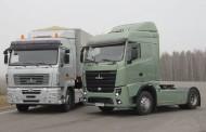 משאיות MAZ לאירופה
