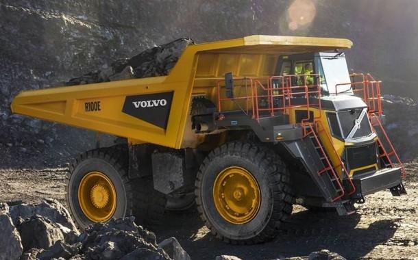 וולוו חוזרת אל תחום משאיות העפר הקשיחות