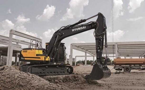 מחפר 22 טון חדש מיונדאי