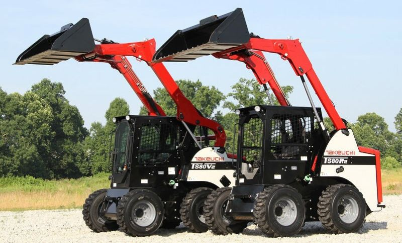 Takeuchi TS80 Skid Steer