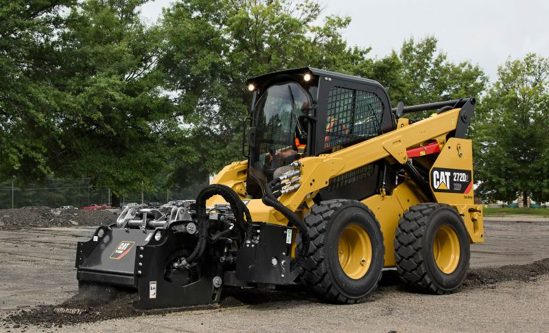 Cat 272D2 XHP SSL with Cold Planer