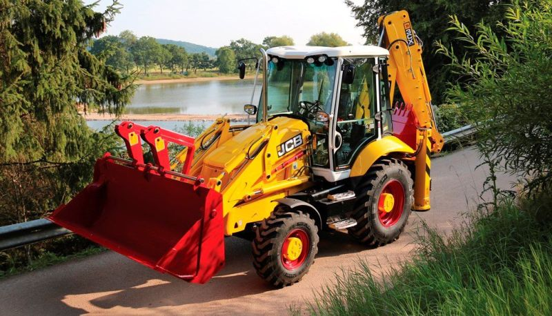 JCB 3CX 70th anniversary