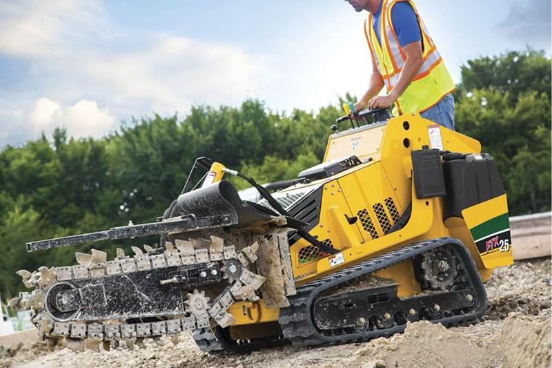 חופר תעלות Vermeer FTX25