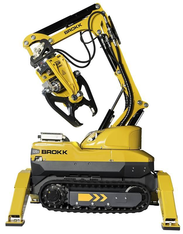 רובוט הריסה Brokk120D