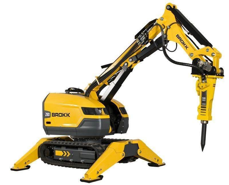 רובוט הריסה Brokk 280