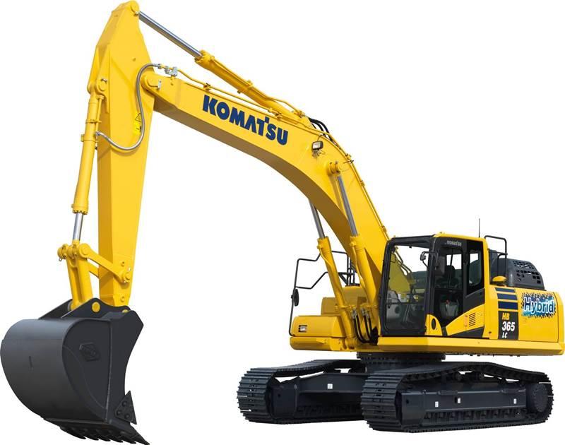 מחפר זחלי קומטסו HB365LC3