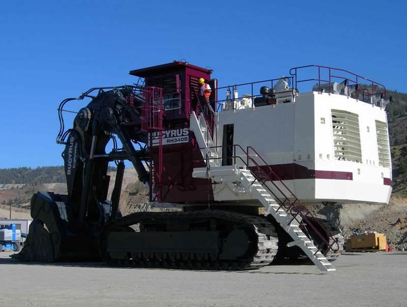 מחפר Bucyrus RH 340