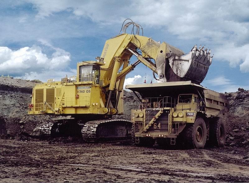 מחפר Demag H740 OS