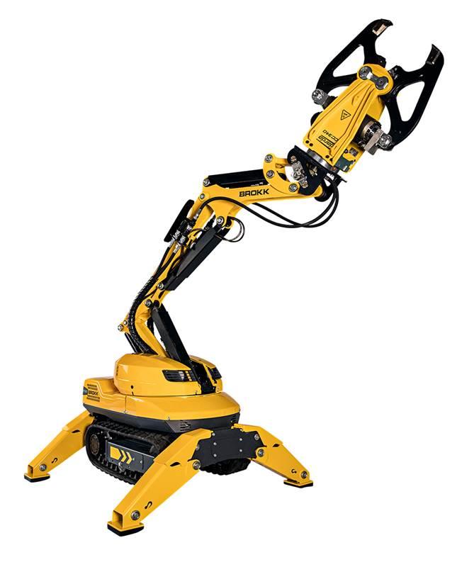 רובוט הריסה Brokk 110