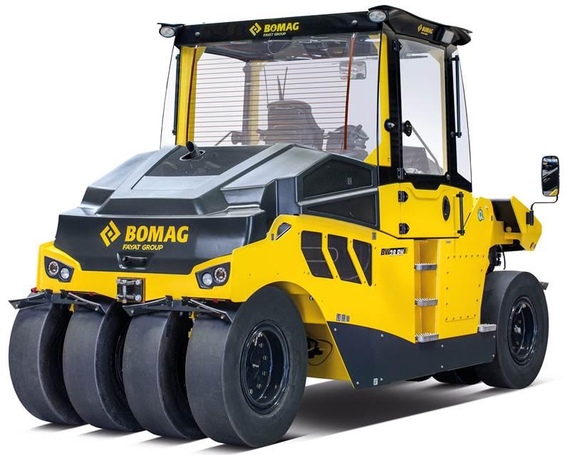מכבש פנאומטי Bomag BW 28 RH
