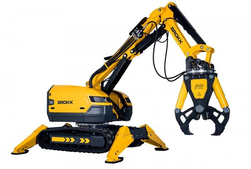 רובוט הריסה Brokk 500