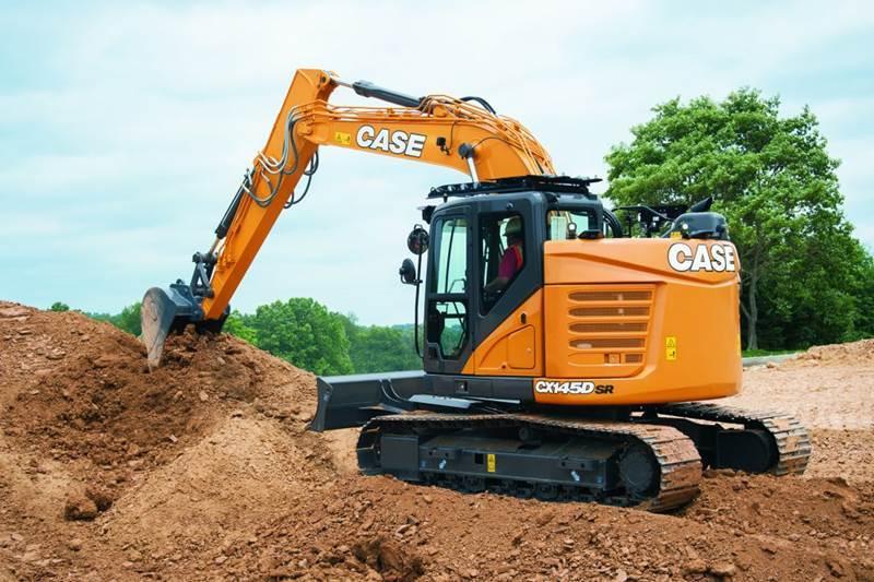 מחפר קייס CX145D SR