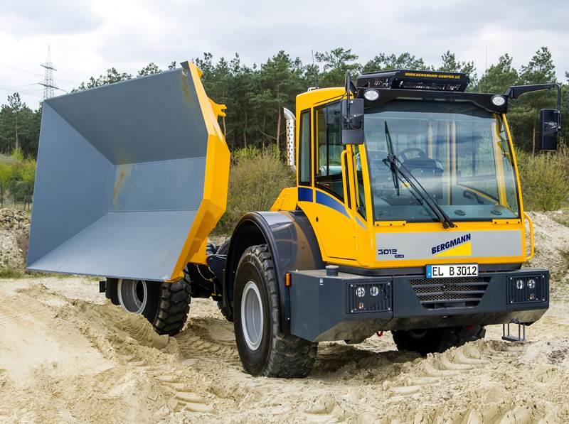 משאית פירקית Bergmann 3012 DSK PLUS