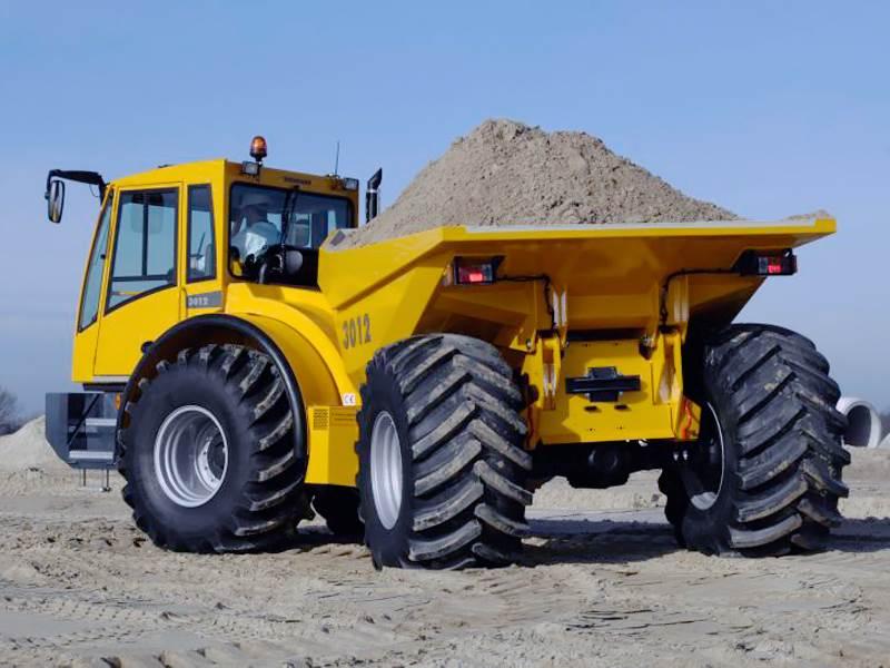 משאית פירקית Bergmann 3012 HK PLUS