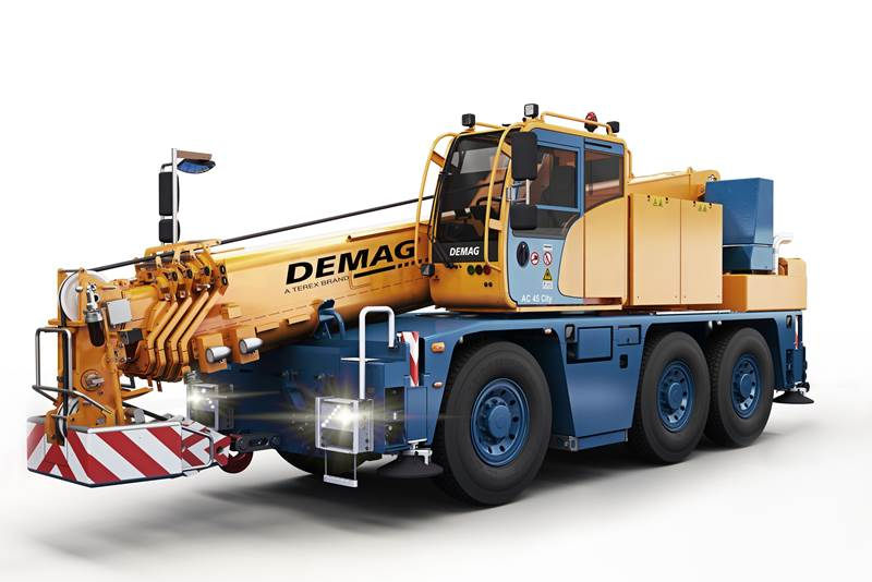 מנוף נייד Demag AC 45 City