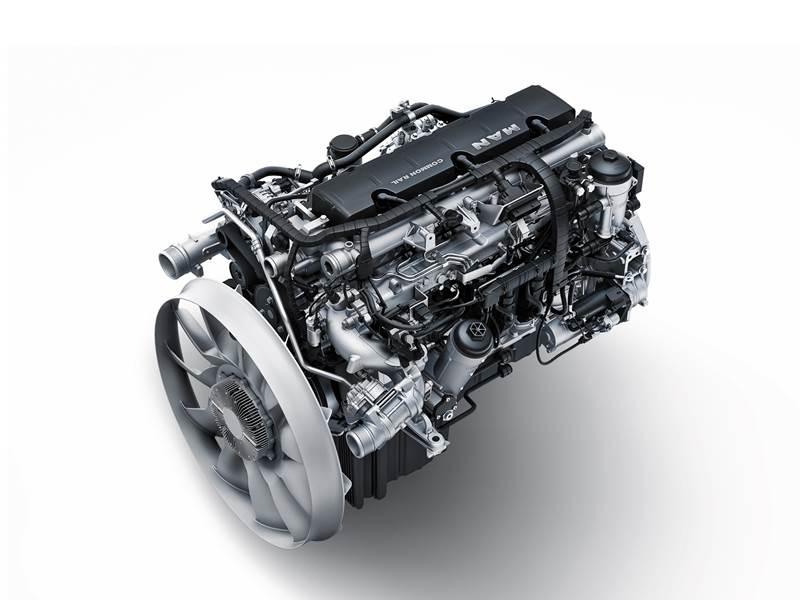מנוע מ.א.ן D08 החדש