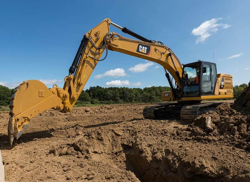 מחפר קטרפילר 320