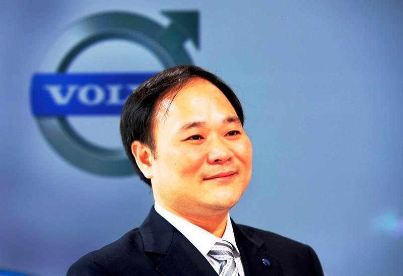 """יו""""ר גילי - Li Shufu"""