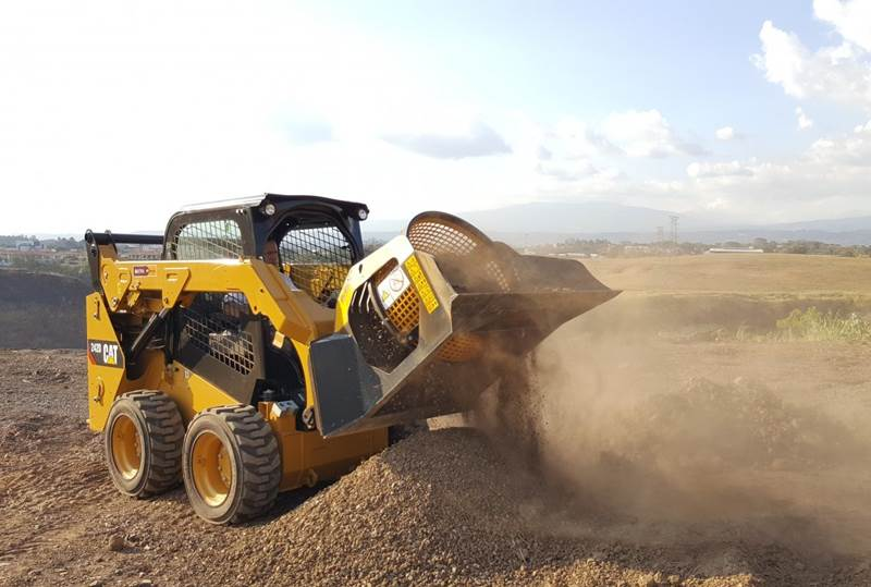 כף סינון MB Crusher