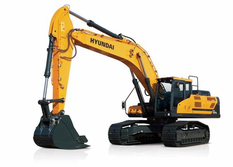 מחפר יונדאי HX380L