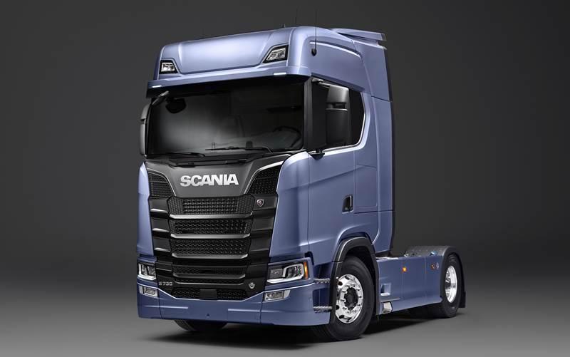 משאית סקניה S 730 4x2
