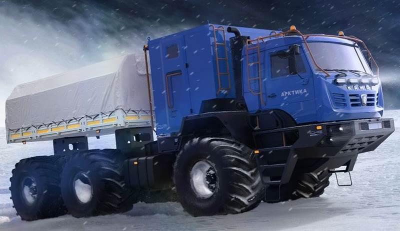 KAMAZ Arctic