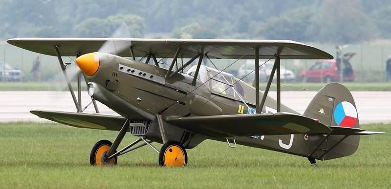 1935 Avia B-534