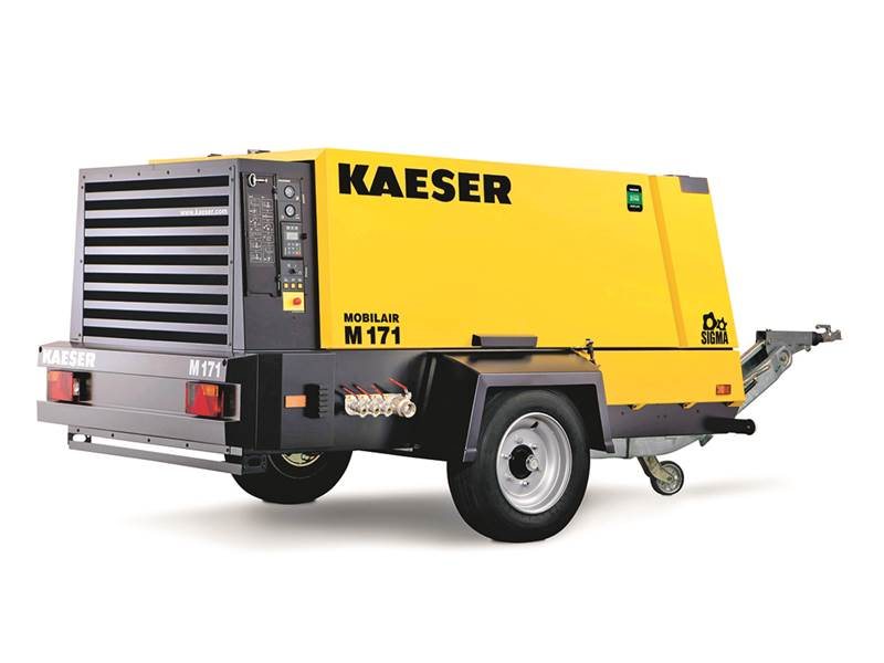 מדחס Kaeser Mobilair M171