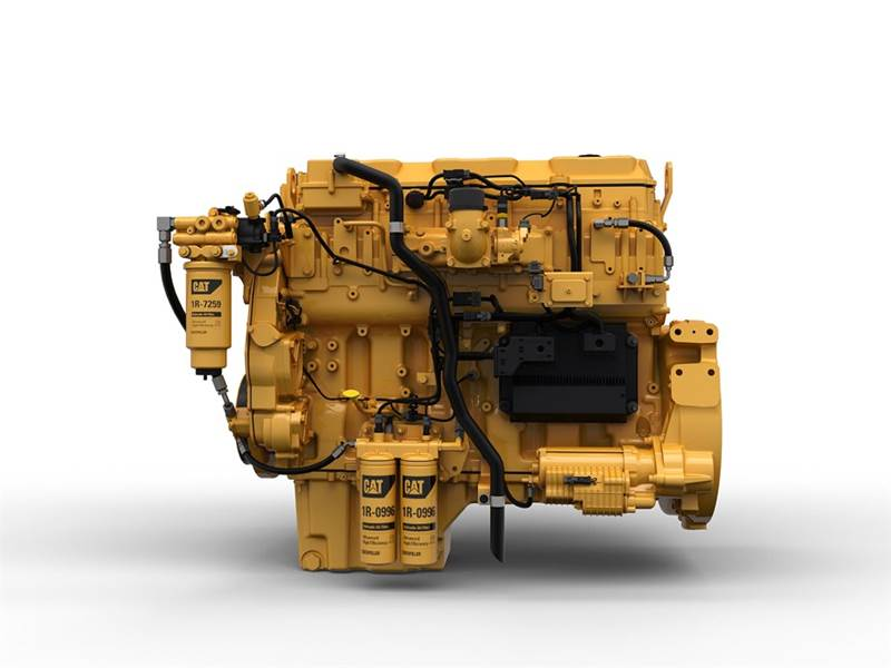 מנוע קטרפילר C13B מעודכן