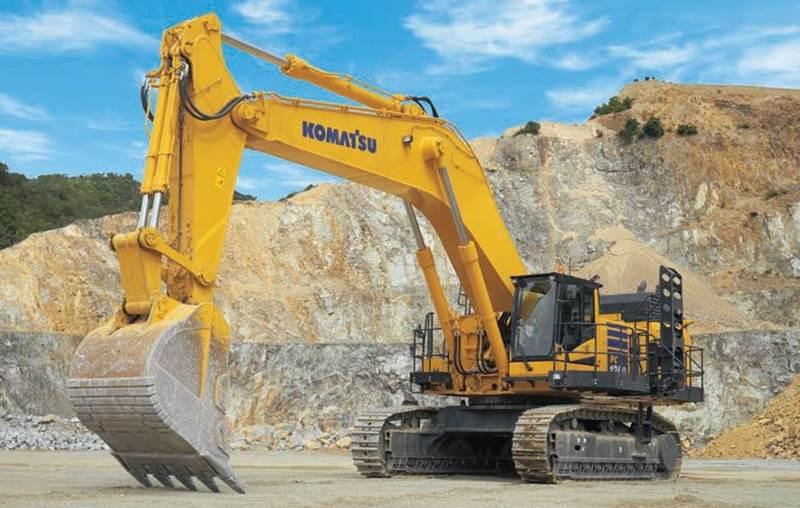 מחפר קומטסו PC1250-11