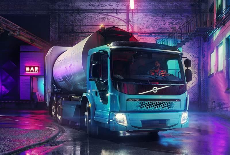 משאית וולוו FE Electric
