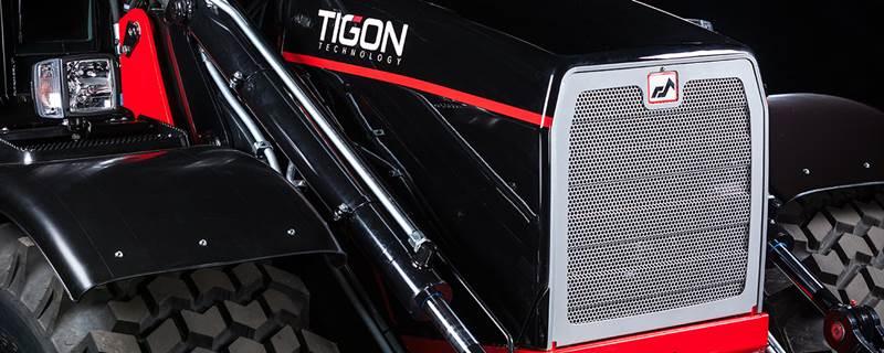 מחפרון Huddig Tigon