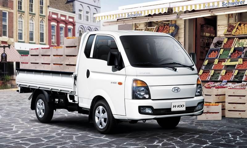 """יונדאי Porter יהיה הרכב המסחרי הראשון של היצרנית שיוצע עם הינע על טהרת החשמל; מדובר על טווח נסיעה של 250-300 ק""""מ בין טעינות"""