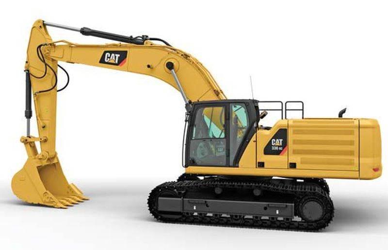 מחפר קטרפילר 336 GC