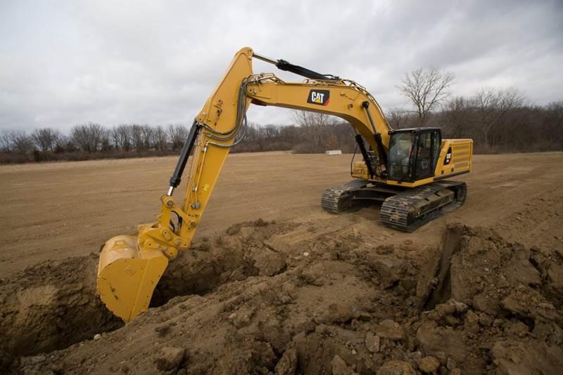 מחפר קטרפילר 336