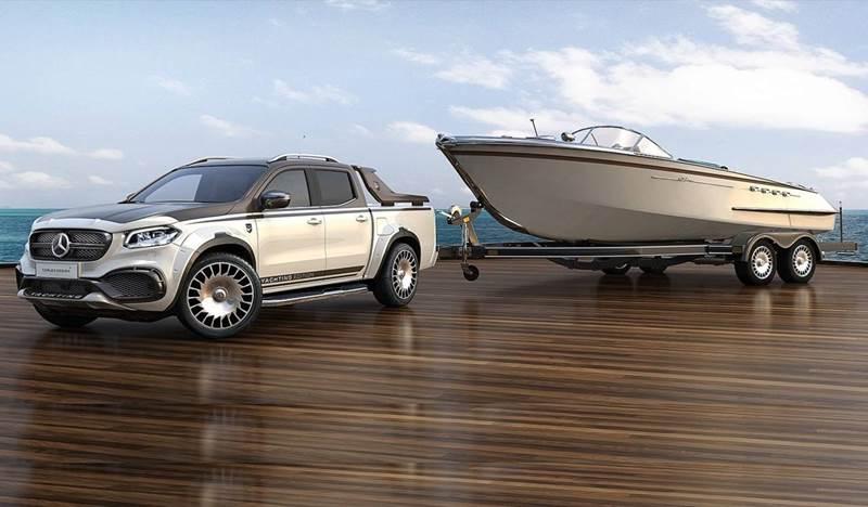 מרצדס X-קלאס Yachting Edition by Carlex Design