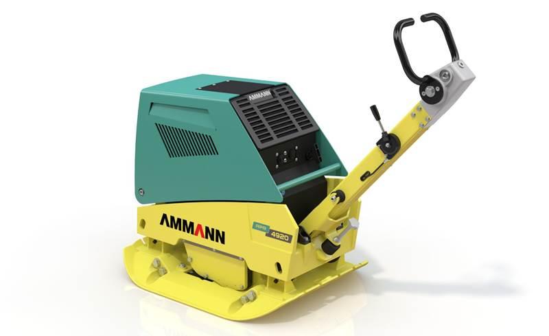 מהדק אדמה Ammann APR 4920 עם מנגנון ידיות האחיזה החדש