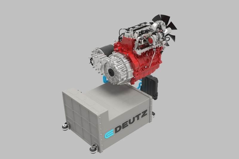 מנוע חשמלי של e-Deutz למעמיס טלסקופי
