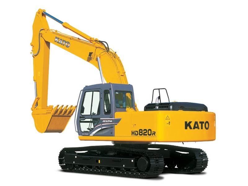 מחפר 20 טון של Kato; ייבוא הציוד הכבד של היצרנית לארץ נשקל בחיוב