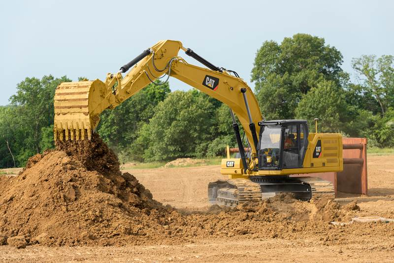 מחפר קטרפילר 330
