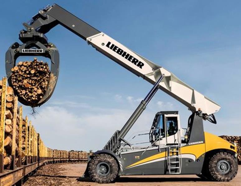Liebherr LRS 545 Log Handler