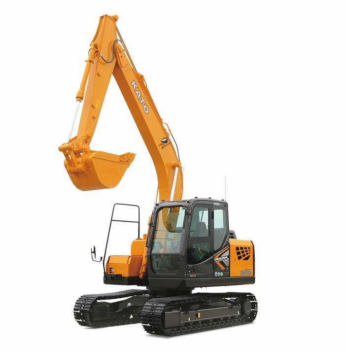 מחפר Kato HD512LC-7