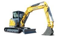 מיני-באגר 5.5 טון חדש מ-Gehl