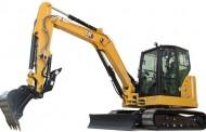 מיני מחפר 6.0 טון חדש מ-CAT