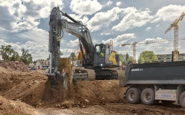 מחפר 35 טון חדש מוולוו