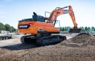 מחפר 23 טון חדש מדוסאן